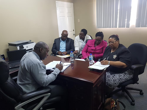 TTRNA 5 day Marathon meetings and action to address Nurses issues in Tobago pic2